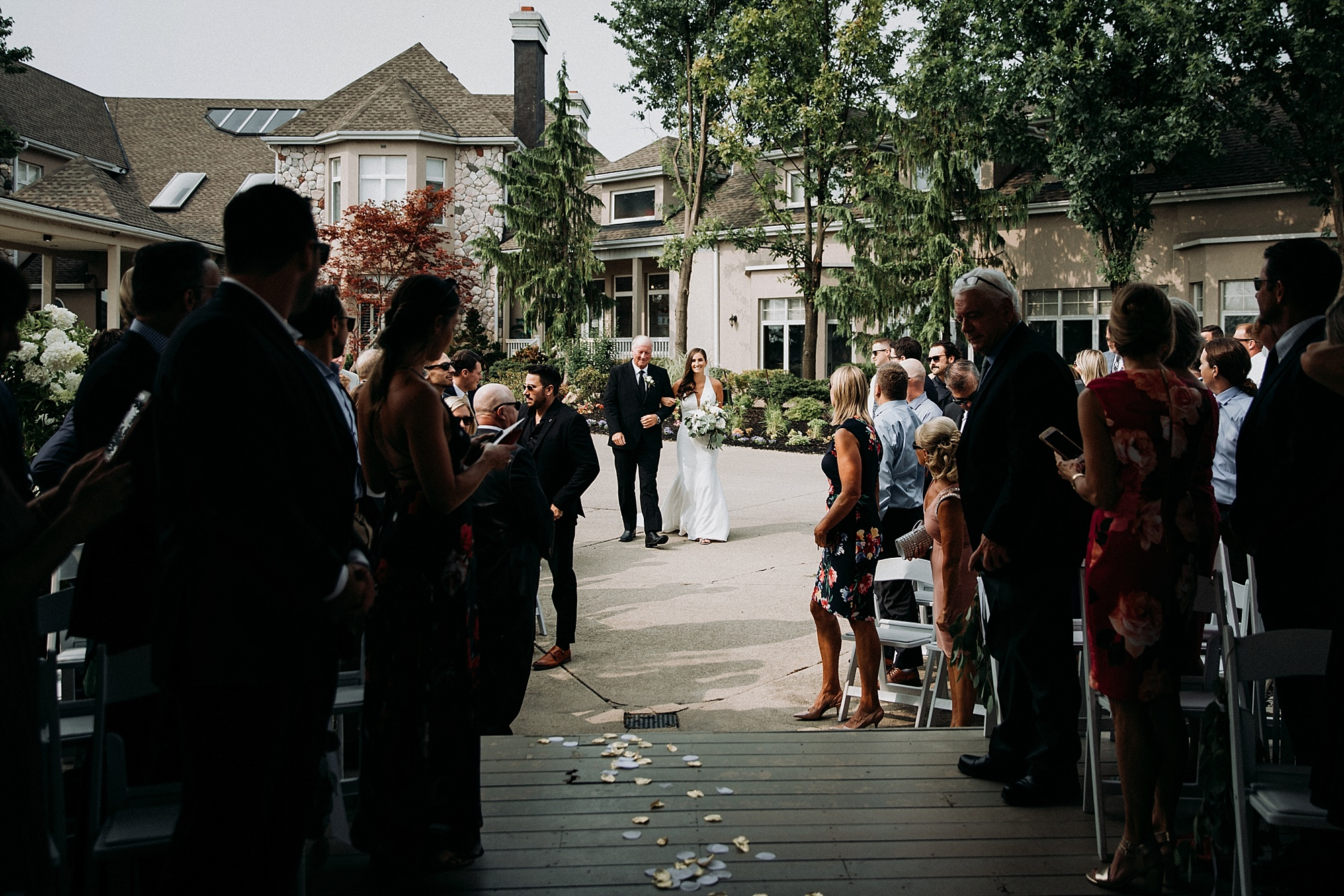 wedding at sawmill creek