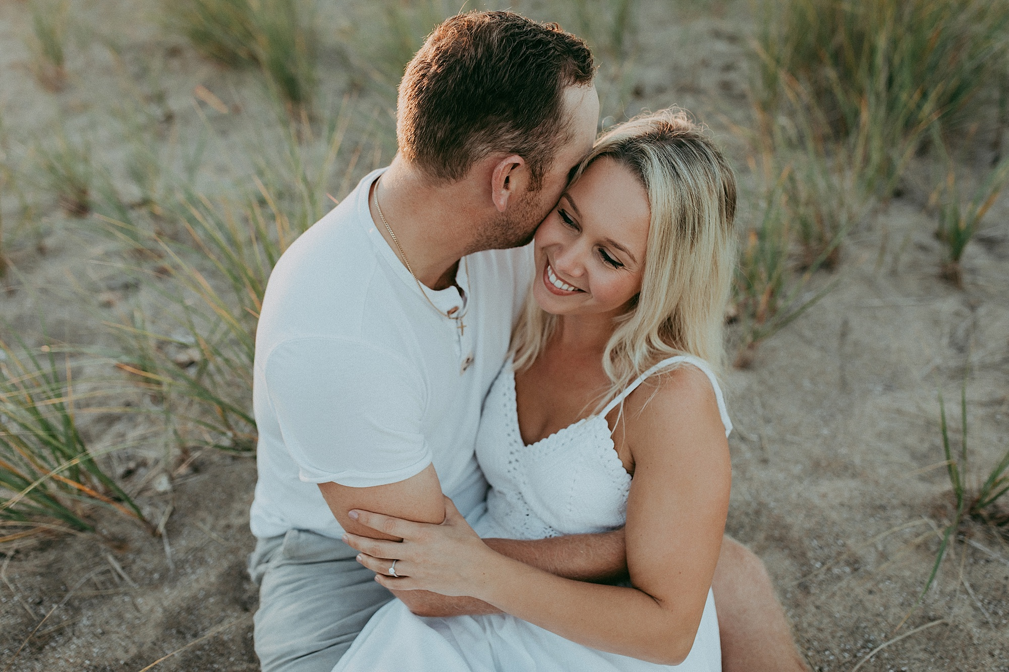 engagement session in Canatara Park