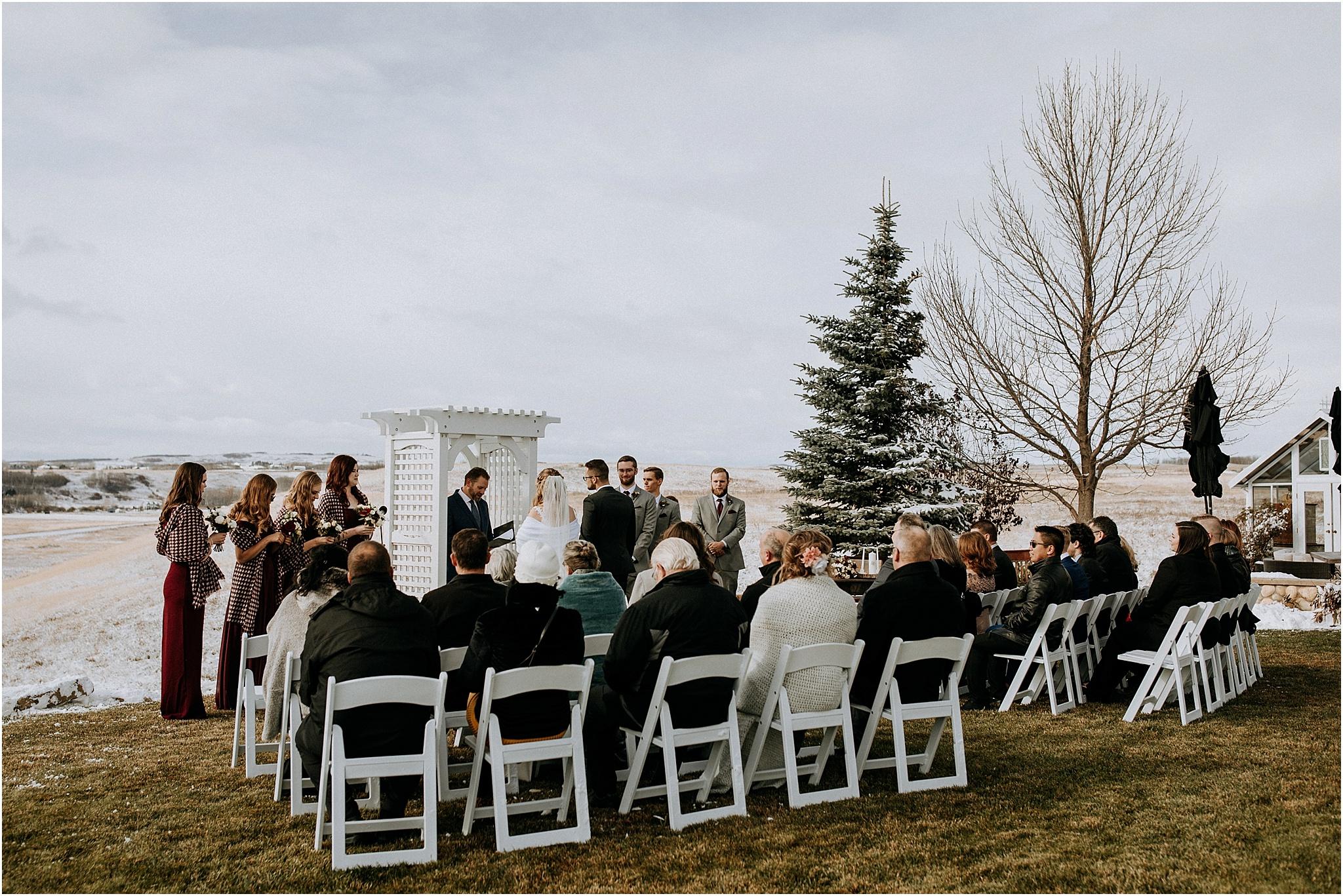 Wedding at The Ridge Okotoks