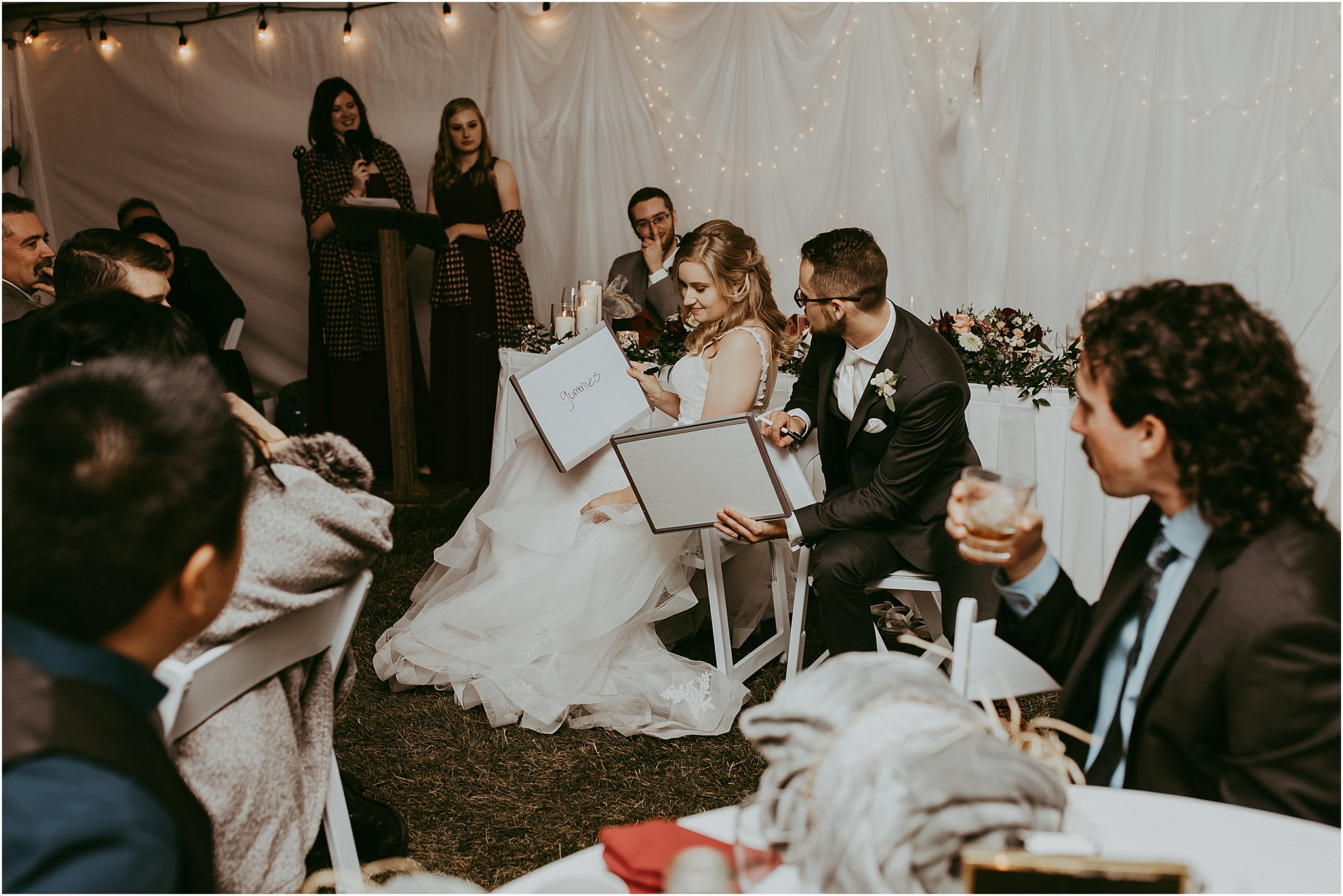 Wedding reception The Ridge Okotoks